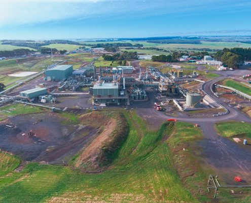 Industrial Drone Photography